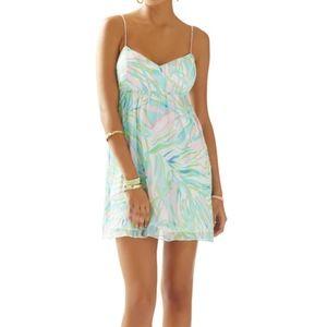 Lilly Pulitzer Dorothy Spaghetti Strap Silk Dress